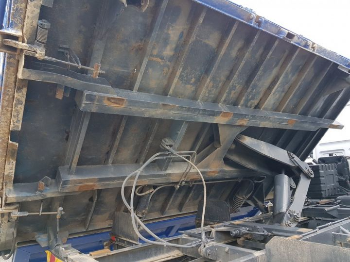 Trucks Daf FA55 2/3 way tipper body 15.210 ATI BLANC - BLEU - 10