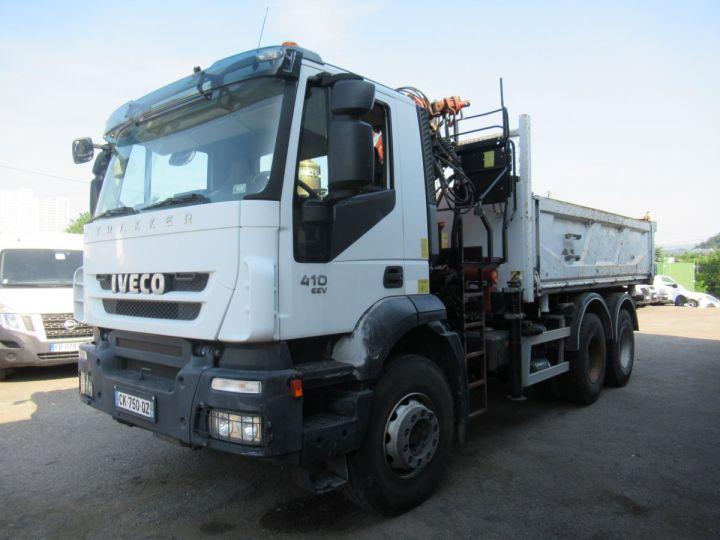 Trucks Iveco EuroTrakker 2/3 way tipper body 260t41  - 2
