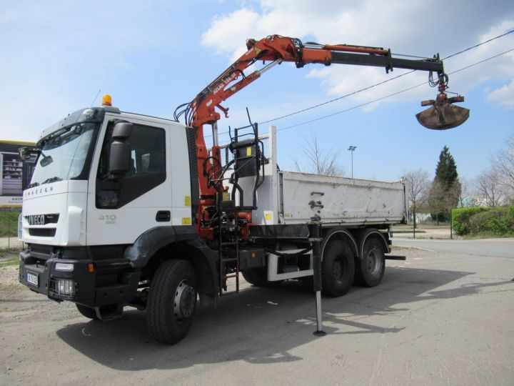 Trucks Iveco EuroTrakker 2/3 way tipper body 260t41  - 6