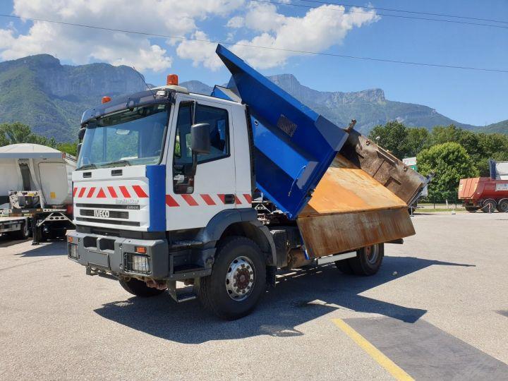 Trucks Iveco EuroTrakker 2/3 way tipper body Cursor 310  - 1