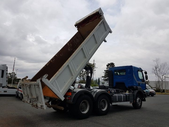 Trucks Renault Kerax 2/3 way tipper body 430dxi.26 6x4 BLEU BLANC - 4