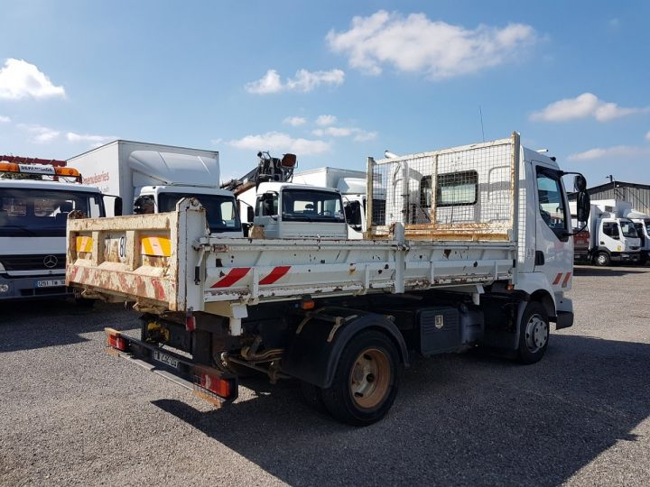 Trucks Renault Midlum 2/3 way tipper body 180dci.08 BLANC - 2