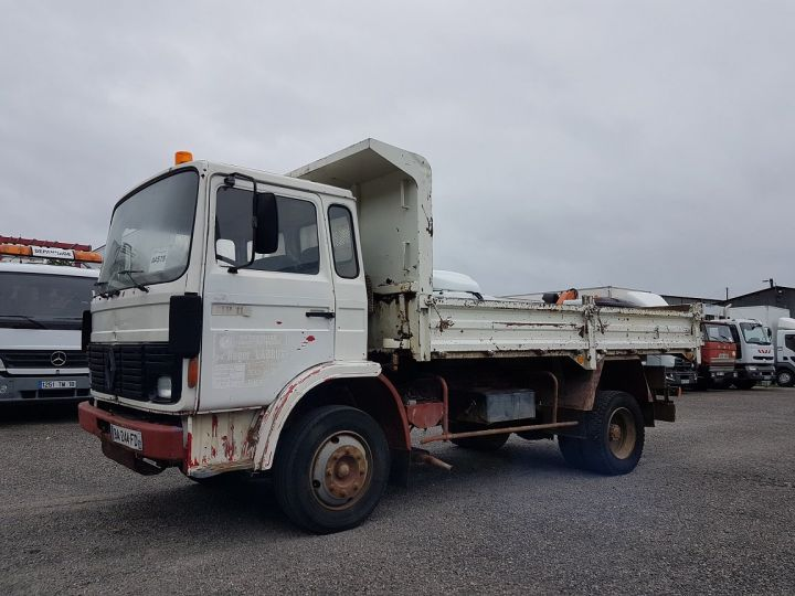 Trucks Renault J Back Dump/Tipper body P 11 BENNE BLANC - 1