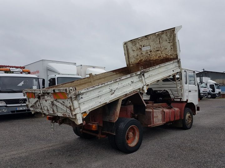Trucks Renault J Back Dump/Tipper body P 11 BENNE BLANC - 3