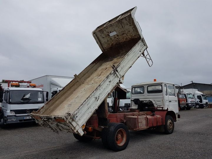 Trucks Renault J Back Dump/Tipper body P 11 BENNE BLANC - 4
