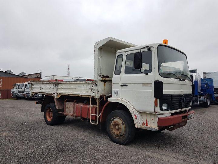 Trucks Renault J Back Dump/Tipper body P 11 BENNE BLANC - 5
