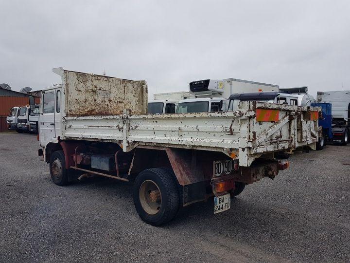 Trucks Renault J Back Dump/Tipper body P 11 BENNE BLANC - 6