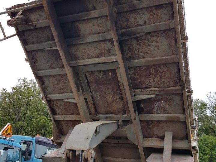 Trucks Renault J Back Dump/Tipper body P 11 BENNE BLANC - 8