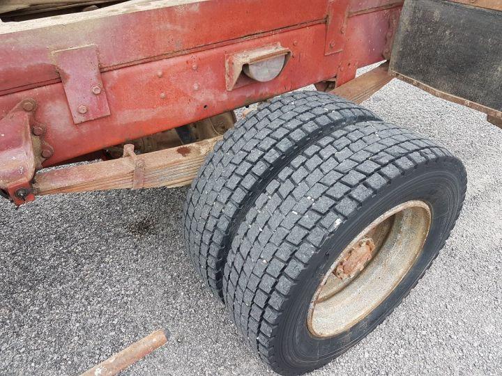 Trucks Renault J Back Dump/Tipper body P 11 BENNE BLANC - 10
