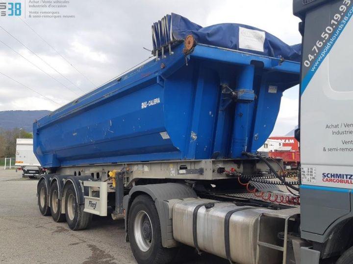 Trucks Back Dump/Tipper body SEMI-REMORQUE BENNE ALU 3 ESSIEUX  - 1