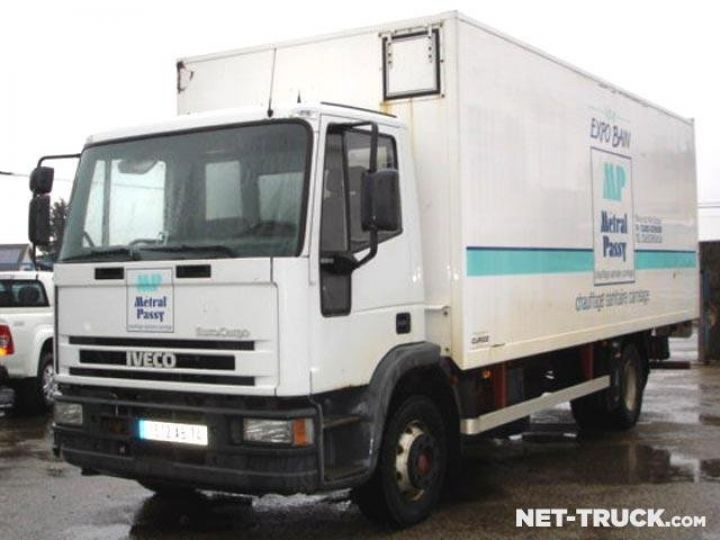 Trucks Iveco EuroCargo Box body + Lifting Tailboard  - 1