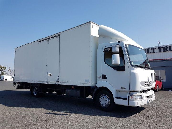 Trucks Renault Midlum Box body + Lifting Tailboard 180dci.12 euro 3 BLANC - 3