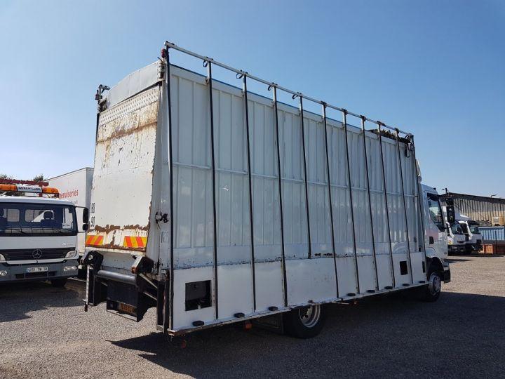 Trucks Renault Midlum Box body + Lifting Tailboard 220dci.13 - Fourgon VITRIER BLANC - 2