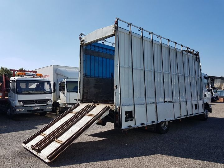 Trucks Renault Midlum Box body + Lifting Tailboard 220dci.13 - Fourgon VITRIER BLANC - 3