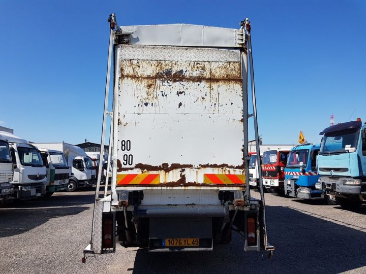 Trucks Renault Midlum Box body + Lifting Tailboard 220dci.13 - Fourgon VITRIER BLANC - 6
