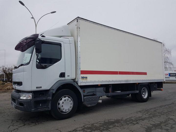 Trucks Renault Premium Box body + Lifting Tailboard 220dci.16 - Moteur en panne / pour pièces BLANC - 1
