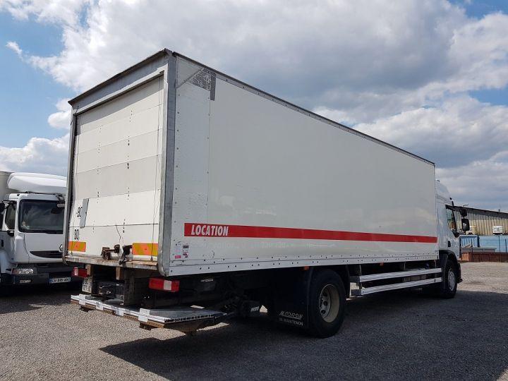Trucks Renault Premium Box body + Lifting Tailboard 310dxi.19D PRIVILEGE - Fourgon abimé BLANC - 2