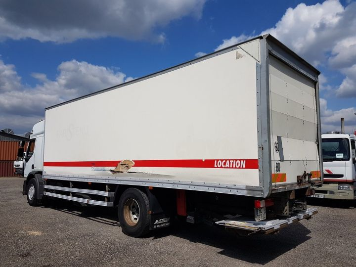 Trucks Renault Premium Box body + Lifting Tailboard 310dxi.19D PRIVILEGE - Fourgon abimé BLANC - 5