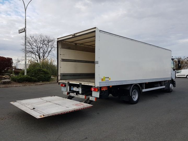 Trucks Renault D Box body + Lifting Tailboard 12.210dti euro 6 BLANC - 3