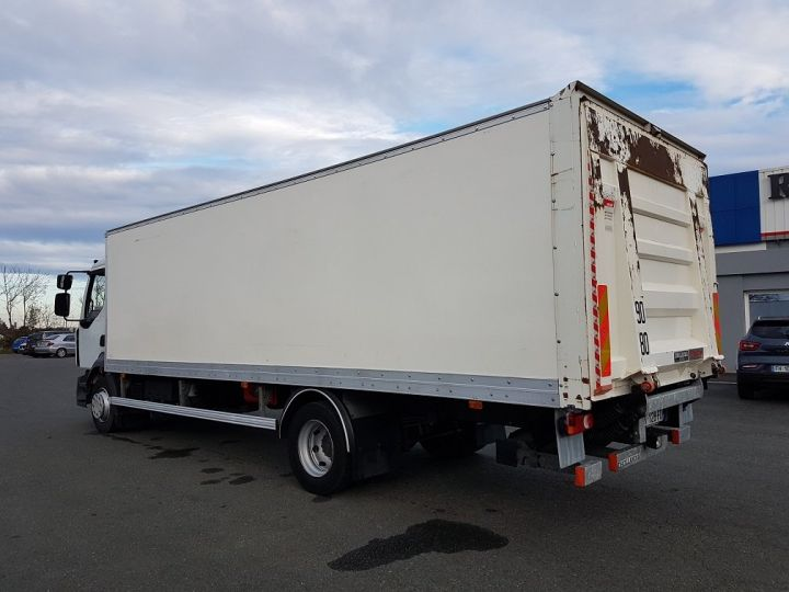 Trucks Renault D Box body + Lifting Tailboard 12.210dti euro 6 BLANC - 5