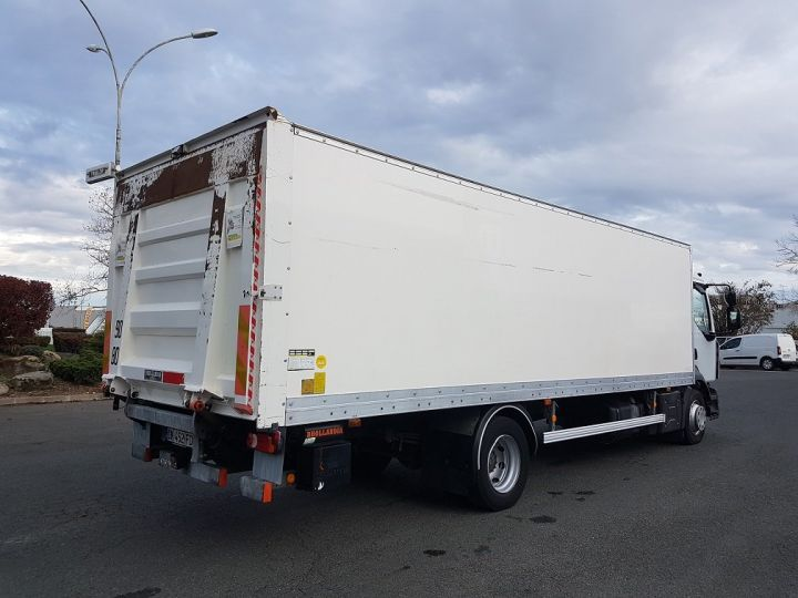 Trucks Renault D Box body + Lifting Tailboard 12.210dti euro 6 BLANC - 2