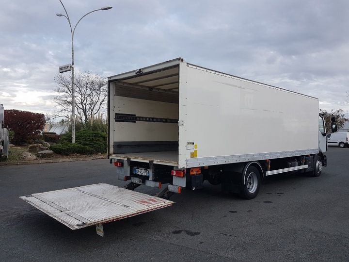 Trucks Renault D Box body + Lifting Tailboard 12.210dti euro 6 BLANC - 3