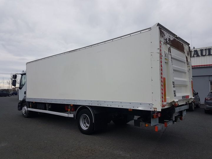 Trucks Renault D Box body + Lifting Tailboard 12.210dti euro 6 BLANC - 5