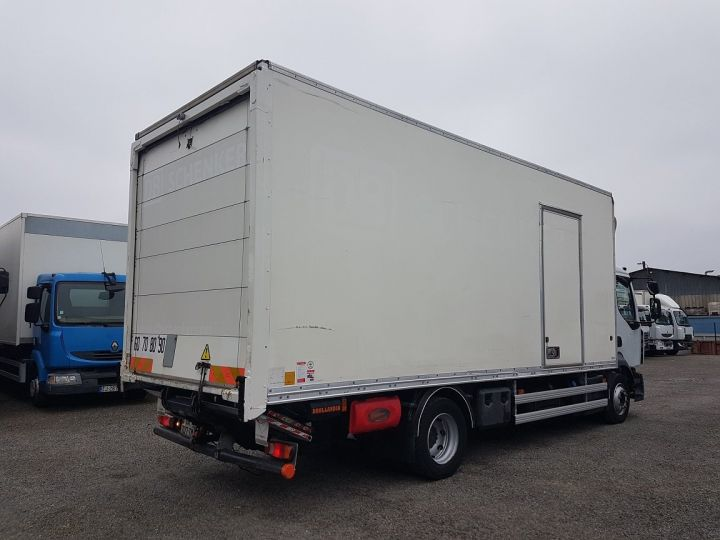 Trucks Renault D Box body + Lifting Tailboard 12.210dti FOURGON 6m50 BLANC - 2