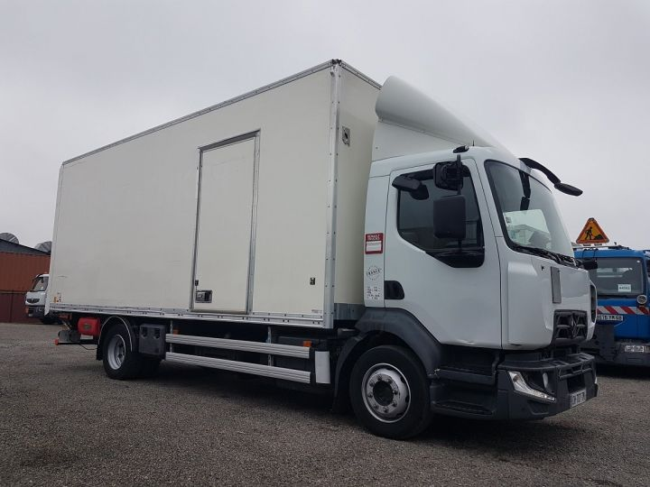 Trucks Renault D Box body + Lifting Tailboard 12.210dti FOURGON 6m50 BLANC - 4