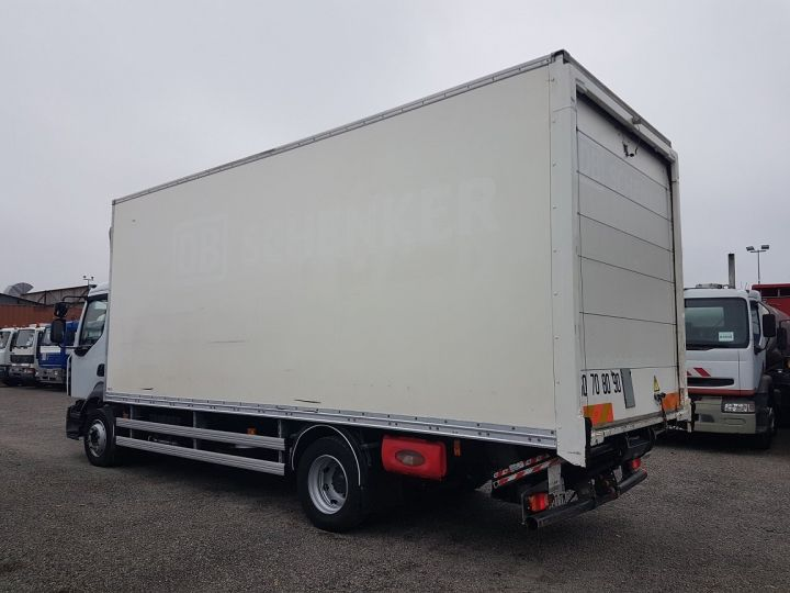 Trucks Renault D Box body + Lifting Tailboard 12.210dti FOURGON 6m50 BLANC - 5