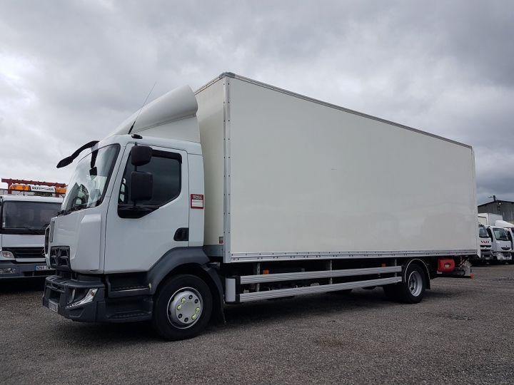 Trucks Renault D Box body + Lifting Tailboard MED 12.210dti FOURGON 7m50 BLANC - 1