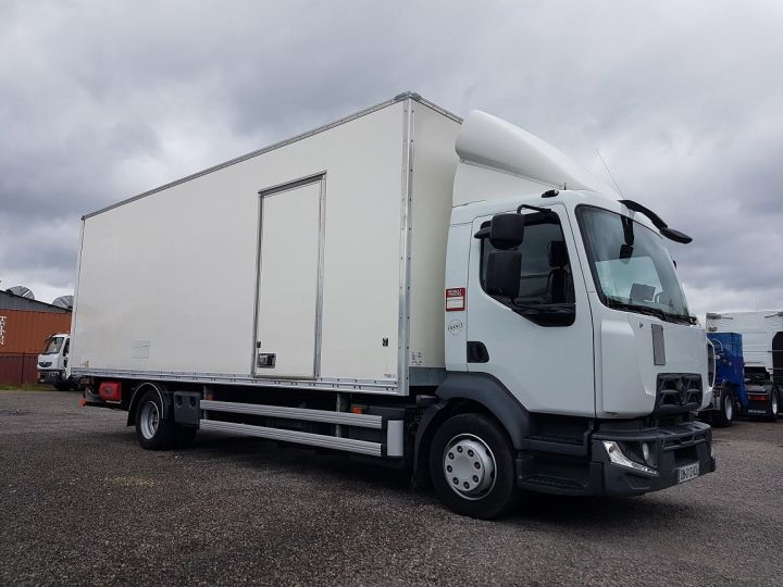 Trucks Renault D Box body + Lifting Tailboard MED 12.210dti FOURGON 7m50 BLANC - 4