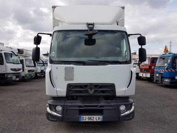 Trucks Renault D Box body + Lifting Tailboard MED 12.210dti FOURGON 7m50 BLANC - 6