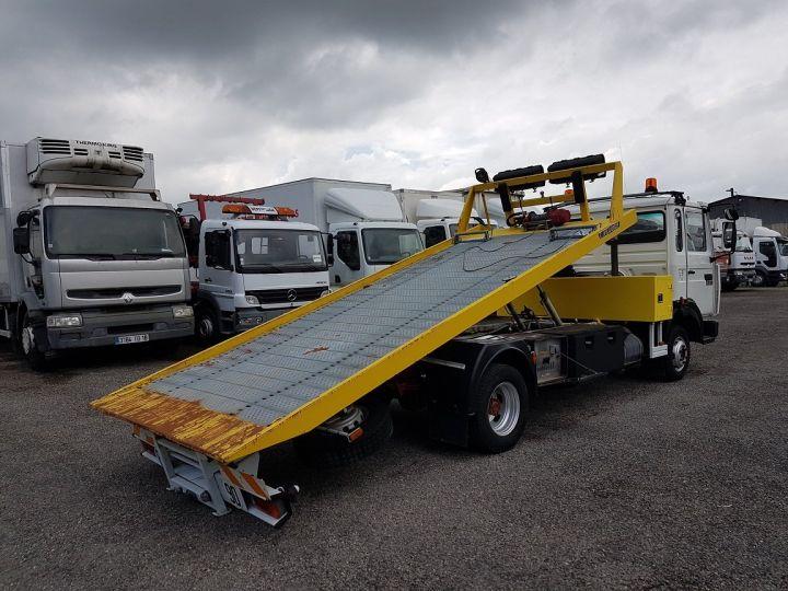 Trucks Renault Midliner Breakdown truck body S120.07/A porte-voiture FIAULT + treuil BLANC - JAUNE - 3
