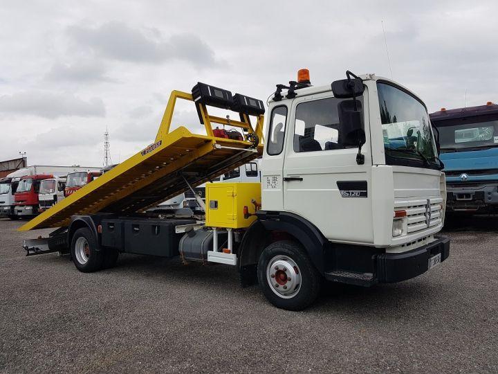 Trucks Renault Midliner Breakdown truck body S120.07/A porte-voiture FIAULT + treuil BLANC - JAUNE - 5