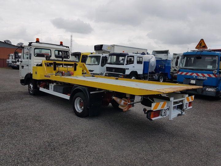 Trucks Renault Midliner Breakdown truck body S120.07/A porte-voiture FIAULT + treuil BLANC - JAUNE - 7