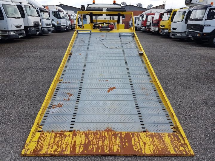Trucks Renault Midliner Breakdown truck body S120.07/A porte-voiture FIAULT + treuil BLANC - JAUNE - 9