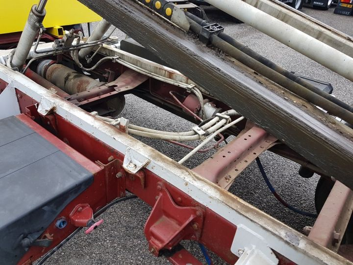 Trucks Renault Midliner Breakdown truck body S120.07/A porte-voiture FIAULT + treuil BLANC - JAUNE - 11
