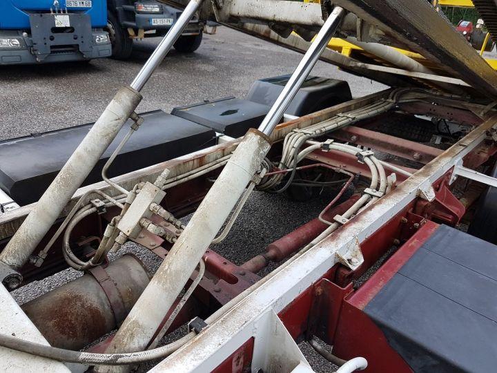 Trucks Renault Midliner Breakdown truck body S120.07/A porte-voiture FIAULT + treuil BLANC - JAUNE - 13