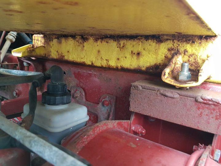 Trucks Renault Midliner Breakdown truck body S120.07/A porte-voiture FIAULT + treuil BLANC - JAUNE - 18
