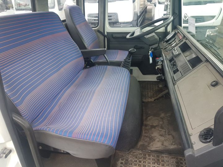 Trucks Renault Midliner Breakdown truck body S120.07/A porte-voiture FIAULT + treuil BLANC - JAUNE - 21
