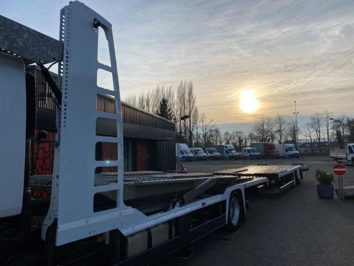 Trucks Renault Car carrier body RENAULT PREMIUM 460 PORTE VOITURE REMORQUE LOHR blanc - 5
