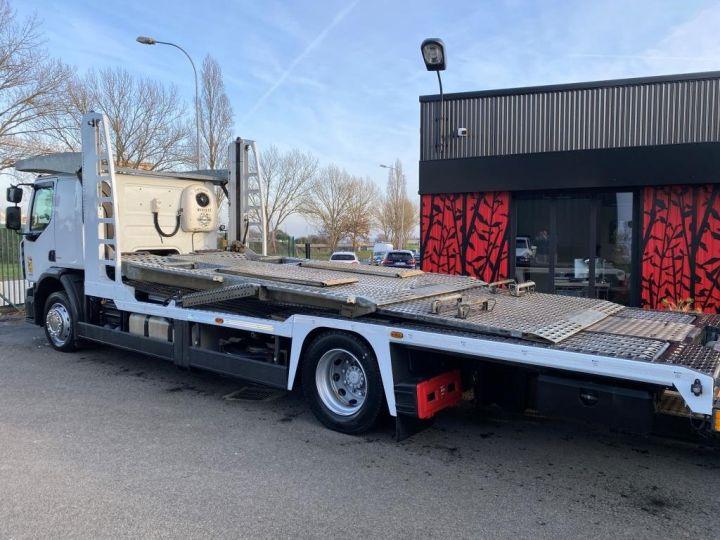 Trucks Renault Car carrier body RENAULT PREMIUM 460 PORTE VOITURE REMORQUE LOHR blanc - 6