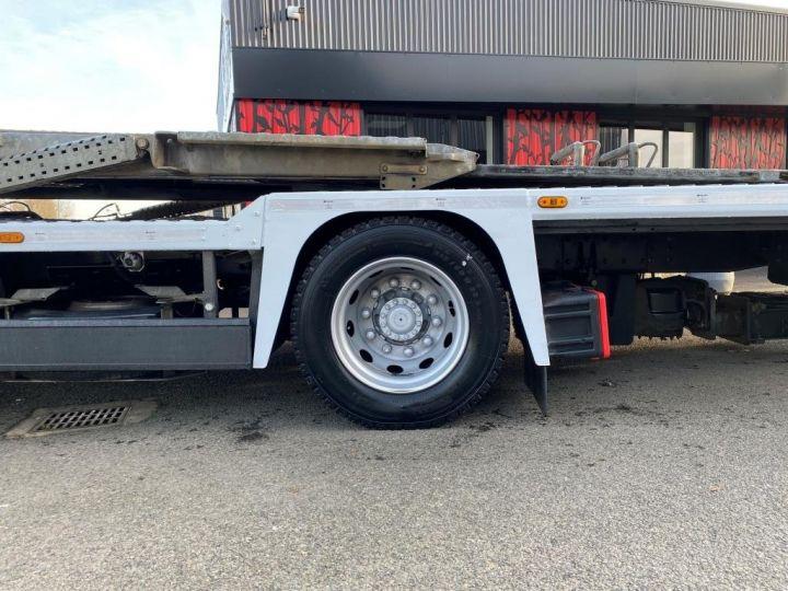 Trucks Renault Car carrier body RENAULT PREMIUM 460 PORTE VOITURE REMORQUE LOHR blanc - 7