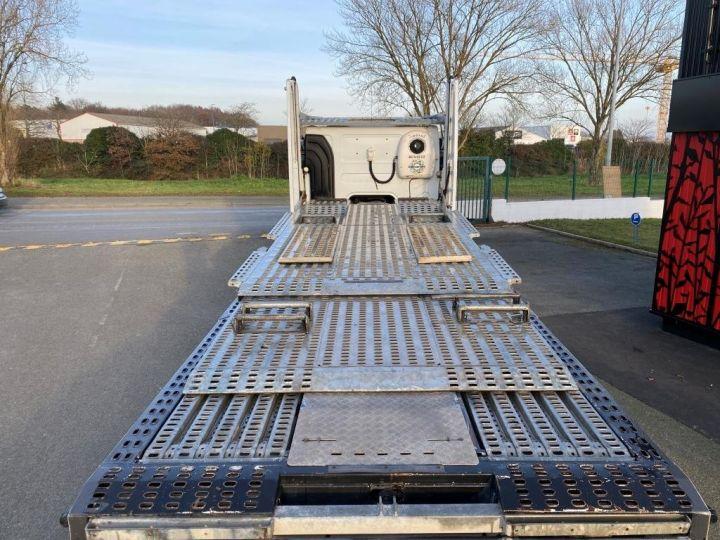 Trucks Renault Car carrier body RENAULT PREMIUM 460 PORTE VOITURE REMORQUE LOHR blanc - 8