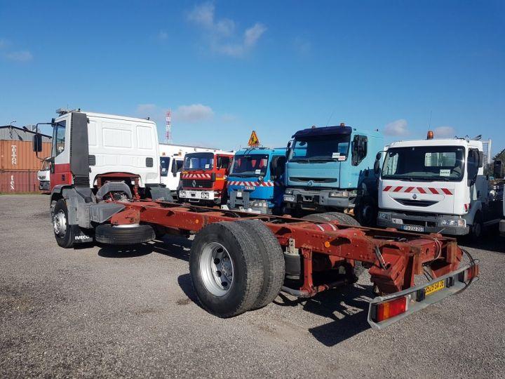 Trucks Iveco EuroCargo Chassis cab 180 E 28 - Boite de vitesse en panne ROUGE - BLANC - 4