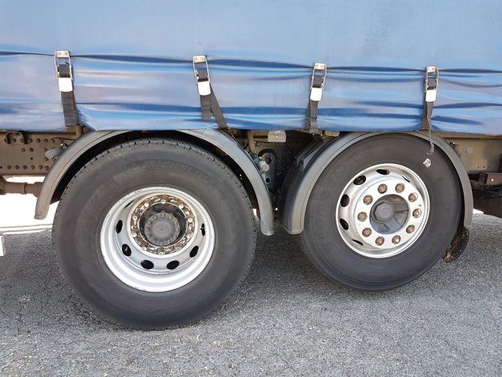 Trucks Renault Premium Lander Curtain side body 340dxi.26 6x2 S euro 5 BLANC et BLEU - 15