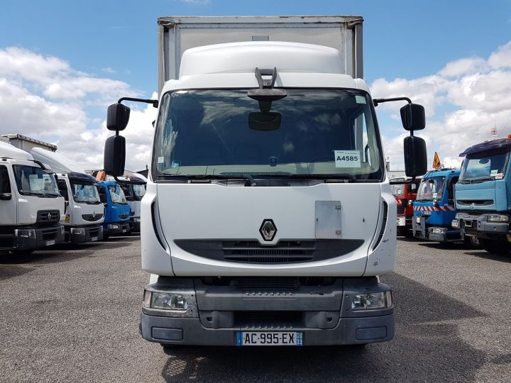 Trucks Renault Midlum Curtain side body 240dxi.16 - P.L.S.C. 8m10 BLANC - GRIS - 10