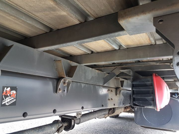 Trucks Renault Midlum Curtain side body 240dxi.16 - P.L.S.C. 8m10 BLANC - GRIS - 12