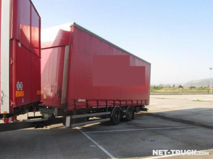 Trucks Renault RENAULT PREMIUM 450 19 T Curtain side body  - 2